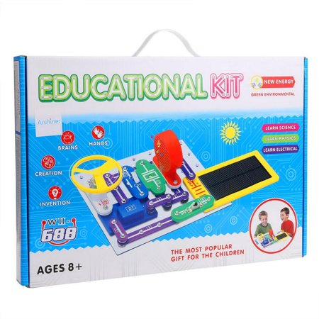 Science Circuit Smart Electronic Blocks Kit for Kids, DIY Educational Science Kit Toy - Best Science Kits For Kids