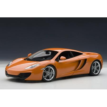 McLaren MP4-12C, Metallic Orange - AutoArt 76006 - 1/18 Scale Diecast Model Toy Car