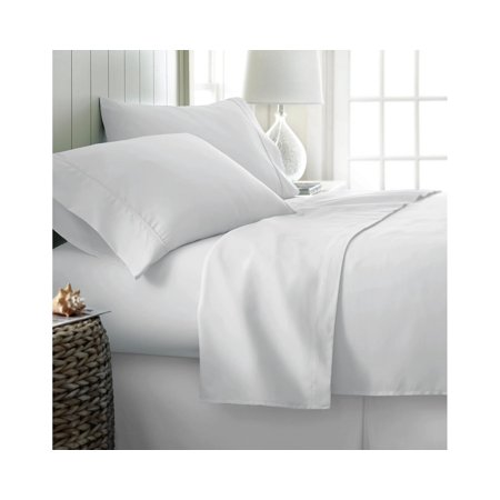 Becky Cameron Soft Comfort Resort Quality 6 Piece Bed Sheet Set Twin Xl White