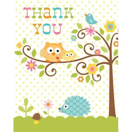 Access Happi Tree Thank You Card  8 Ct