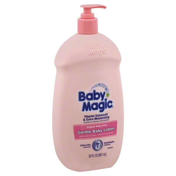 Baby Magic Gentle Baby Lotion Original Baby Scent, 30 FL OZ