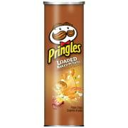 Pringles Loaded Baked Potato Potato Crisps Chips 5.5 oz. Canister