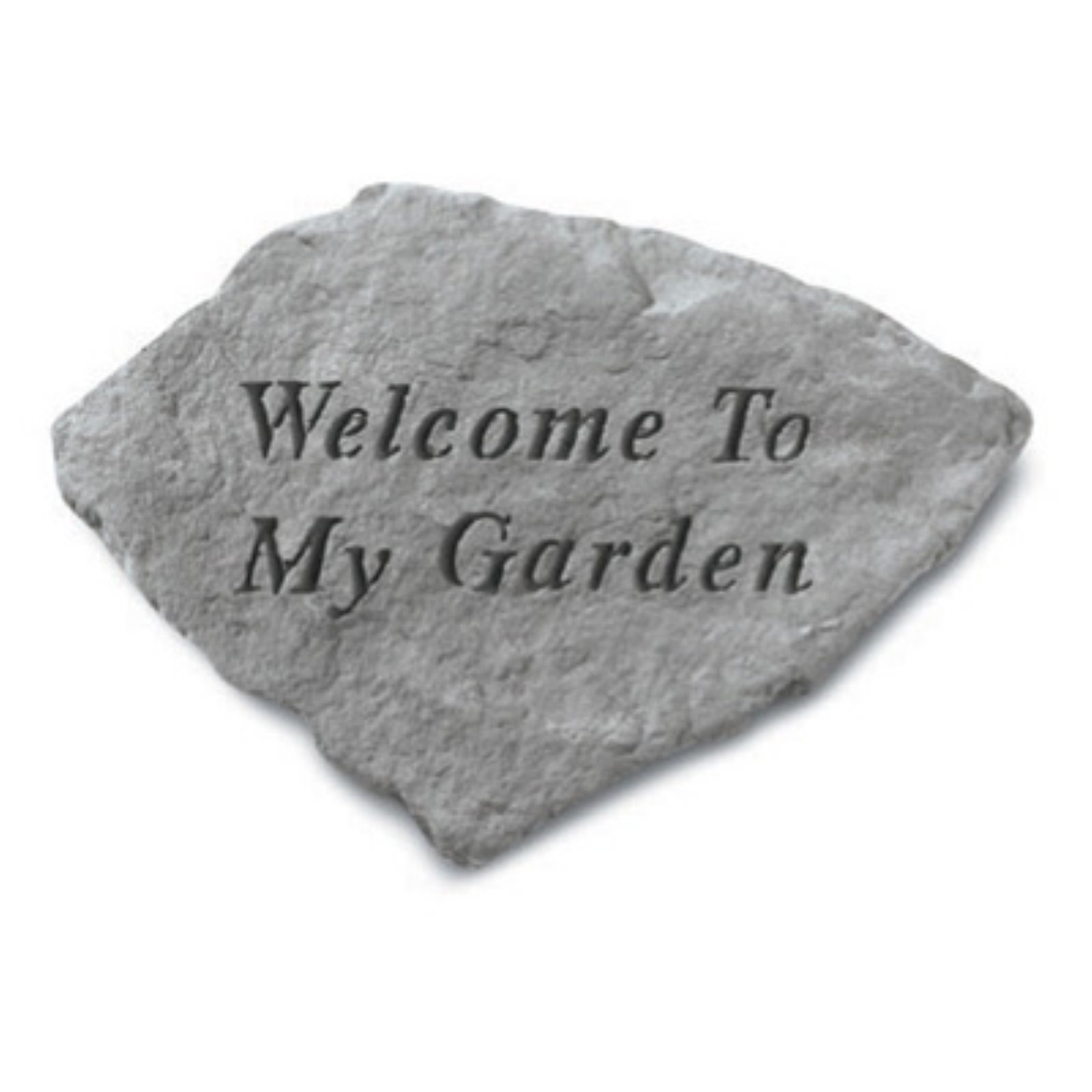 Welcome To My Garden Accent Stone
