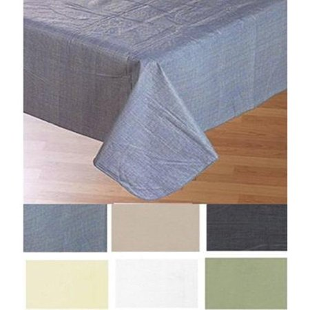 Carnation Home Fashions 52 X 90 Vinyl Tablecloth With