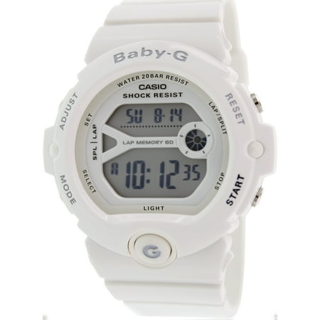 Women's Baby-G BG6903-7B White Resin Quartz Sport Watch