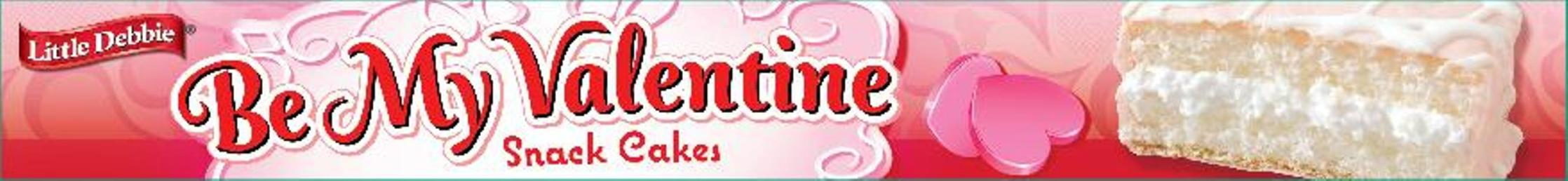 Little Debbie Snacks Be My Valentine Creme Filled White Snack ...