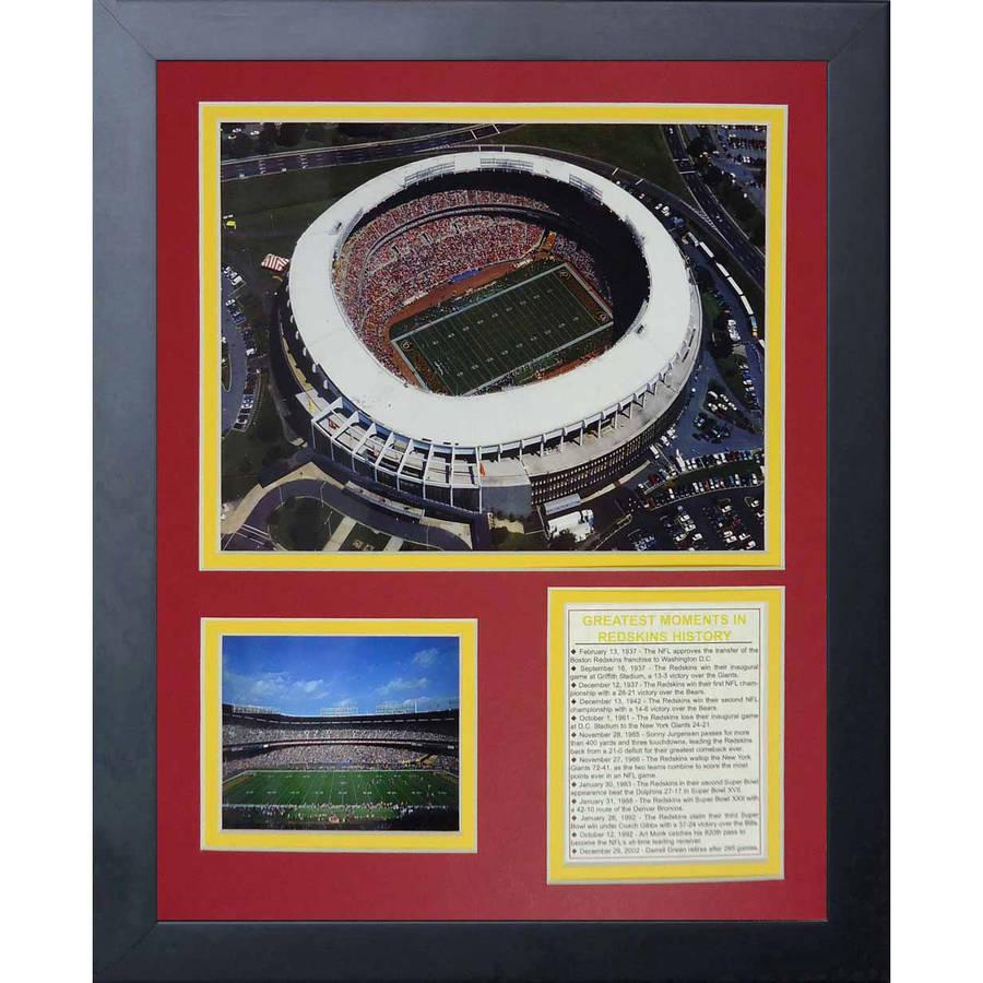 "Legends Never Die RFK Stadium Framed Photo Collage, 11"" x 14"""