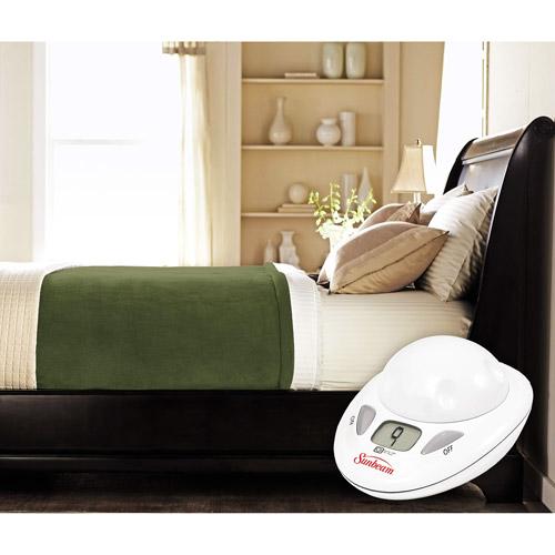 Sunbeam MicroPlush Heated Electric Warming Blanket