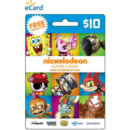 Nickelodeon Games NGC $10 eCard (Email Delivery)