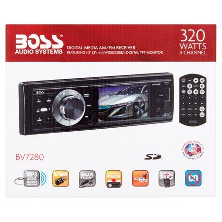 Boss Audio Bv7280 In Dash Digital Media Receiver