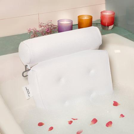 Relaxed Full Body Bathtub Pillow For Head Neck Shoulder