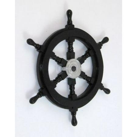 India Overseas Trading Sh8762a   Pirate Ship Wheel  18