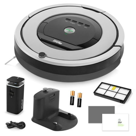 Irobot Roomba 860 Vacuum Cleaning Robot   Dual Mode Virtual Wall Barriers   Extra High Efficiency Filter   More