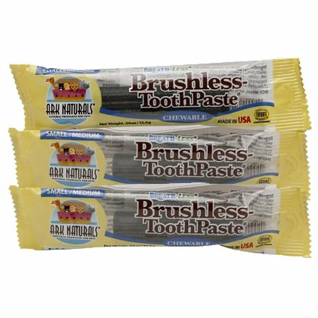 (Ark Natural Products For  Breathless Brushless Toothpaste Chewable Dog Treats)