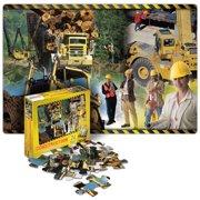 Construction Floor Puzzle - 24 Pieces
