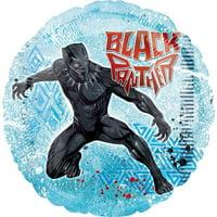 BuySeasons 267970 Black Panther Standard Foil Balloon