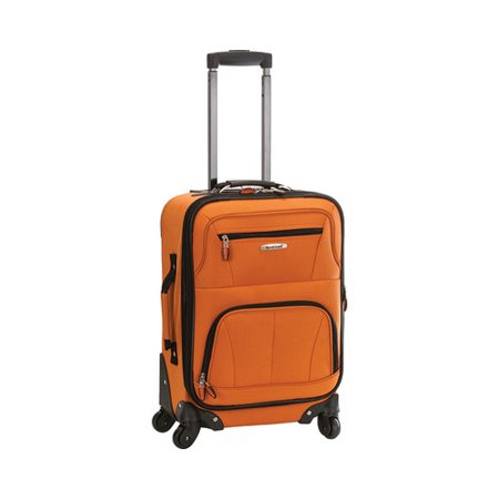 "Rockland Luggage Pasadena 19"" Softside Expandable Spinner Carry On F2281"