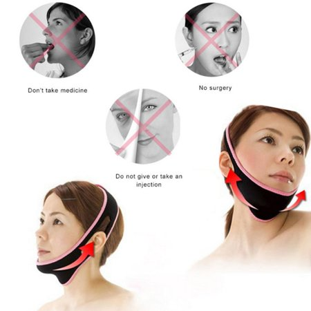 Women Face Lifting V Face Slim Mask Belt Band Bandage - Ladies Slim Belt