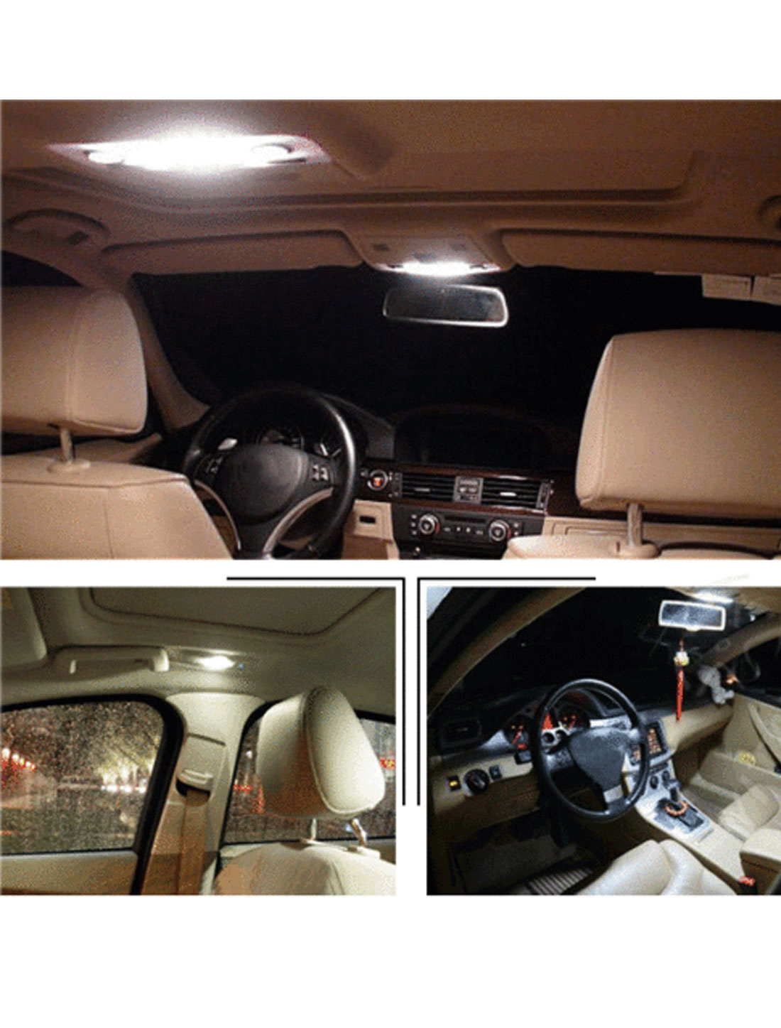 PCS White LED Map Light Interior Package Kit For Acura TL - Acura tl 2004 interior