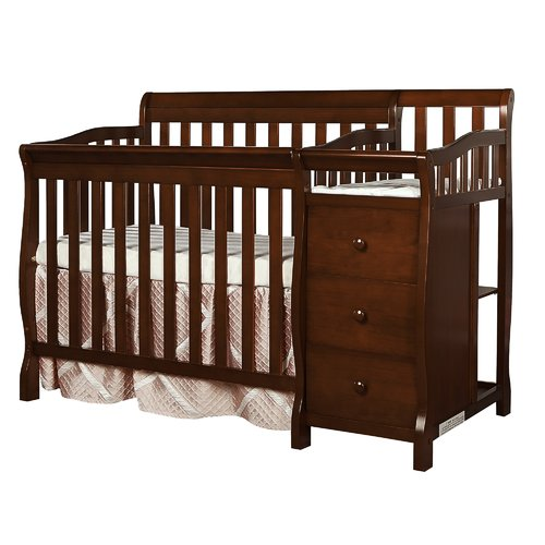 Dreamonme Jayden 4-in-1 Convertible Crib and Changer Combo