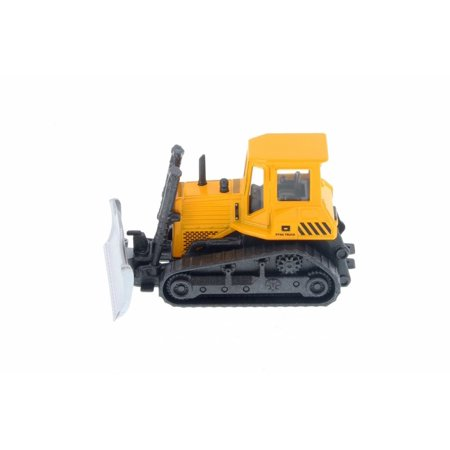 Bulldozer Heavy Construction Machine, Yellow - Showcasts 2261D - Model Toy Car (Brand New but NO -