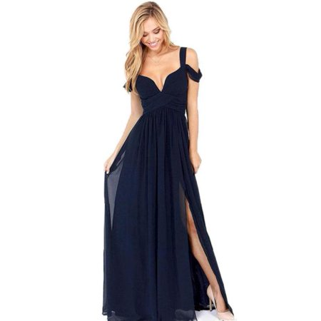 Sexy Women Long Maxi Cocktail Party Ball Prom Gown Formal Dress NY - Halloween Party Long Island Ny