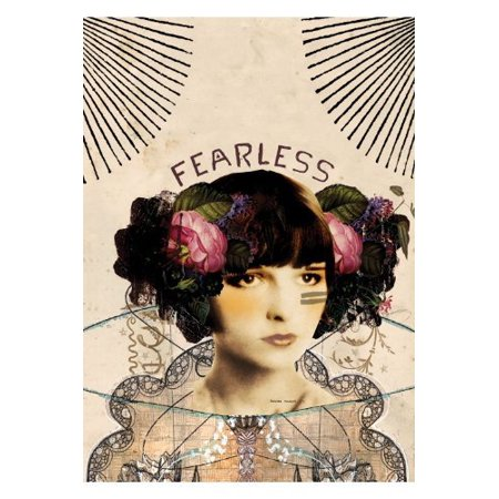 Fearless greeting card by greeting card size 125 x 175 mm 5x7 fearless greeting card by greeting card size 125 x 175 mm 5 m4hsunfo