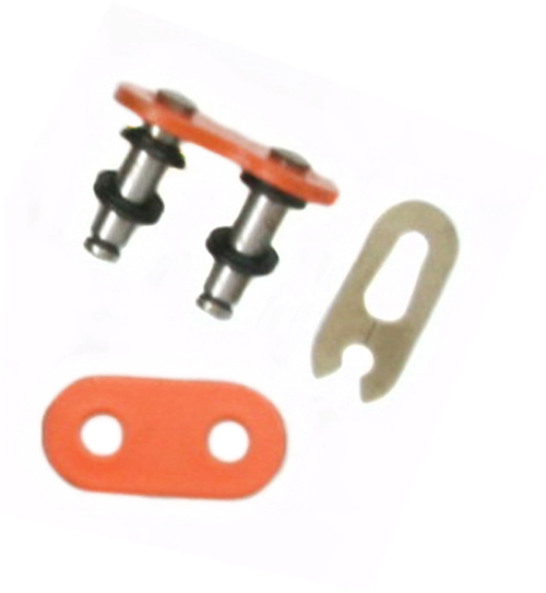 Factory Spec, FS-530-OORML, O-Ring Chain Master Link Orange 530 Pitch