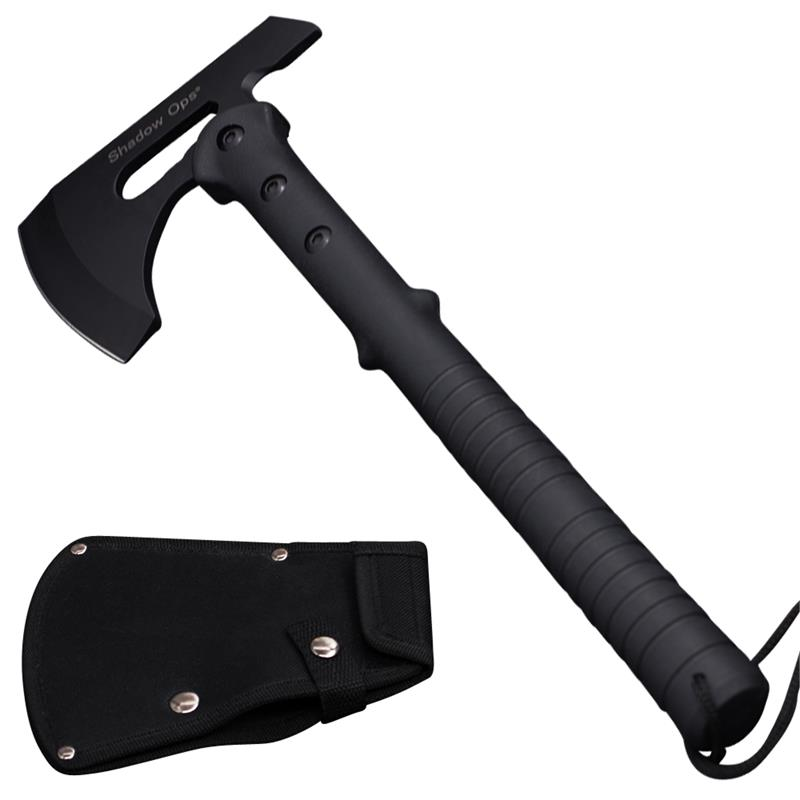 "16"" Shadow Ops® Tactical Axe with Black Handle and Blade Case"