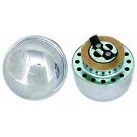 Racing Power Co. R4803 Racing Power Co Packaged Chrome Twist On Breather Cap - Chrome Package