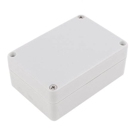 Watertight Aluminum Enclosure - 83 x 58 x 33mm Watertight Junction Box DIY Terminal Connecting Box Enclosure