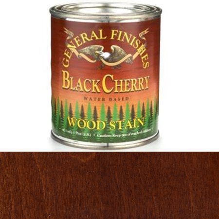 Water Based Wood (General Finishes Water Based Wood Black Cherry Stain,)