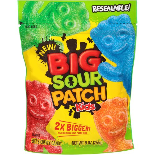 Big Sour Patch Kids Soft & Chewy Candy, 9 oz