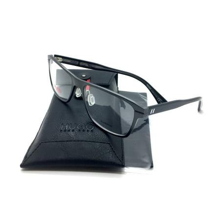 Hugo Boss New Authentic Gray Italy fashion demo lenses Men Eyeglasses 0107 7WZ MTDKRT 55 16