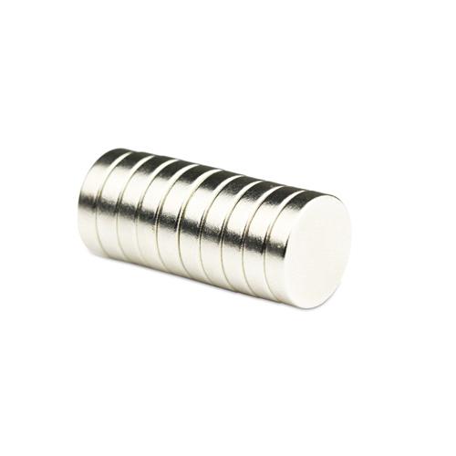 N35 12x3 mm Strong Neodymium Rare Earth Magnet Fridge DIY Science School Project
