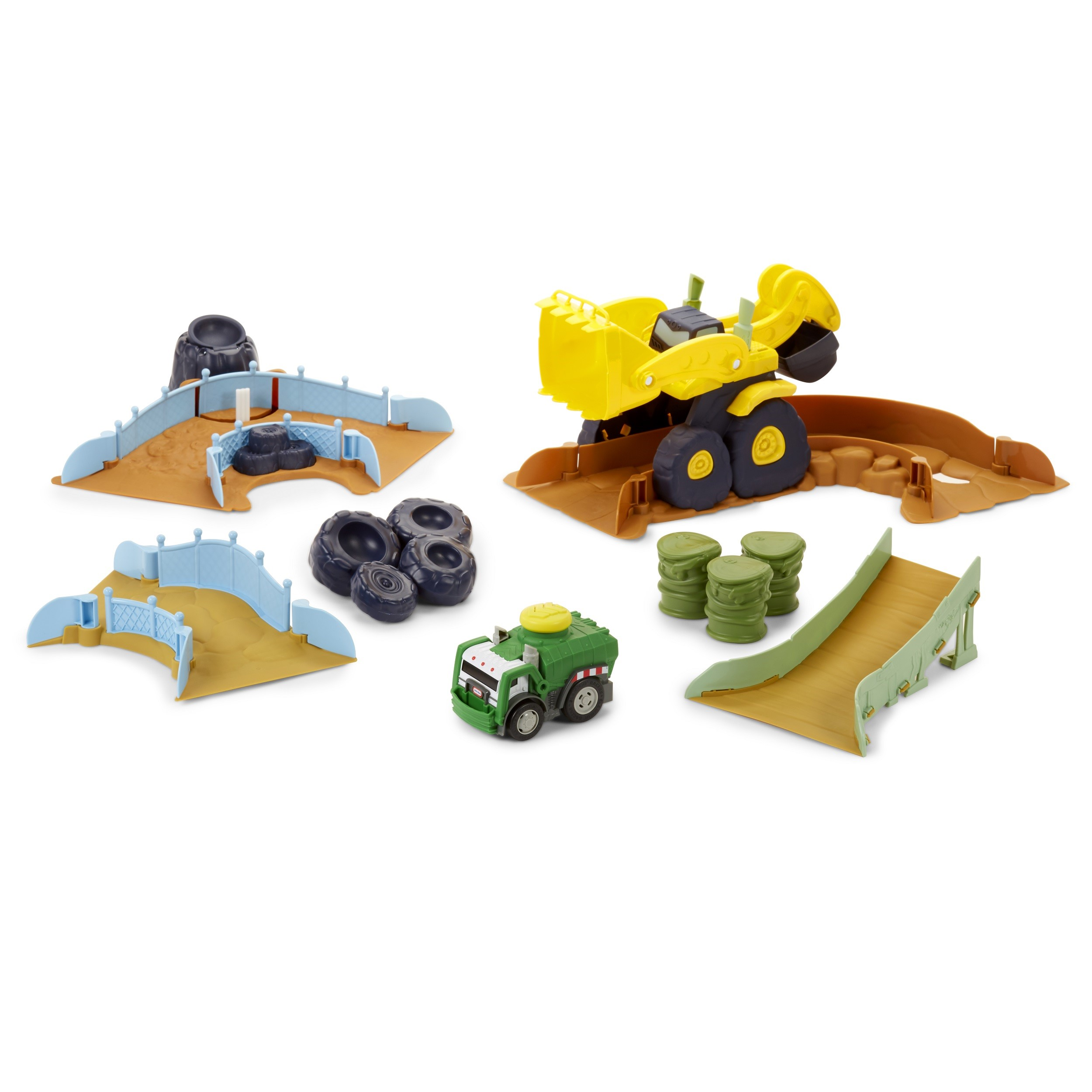 Little Tikes Slammin' Racers Scrapyard Derby Track Set w/Exclusive Car