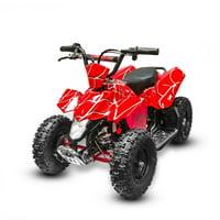 Kids Ride on 350W 24V Battery Power Mini ATV Sahara, Red
