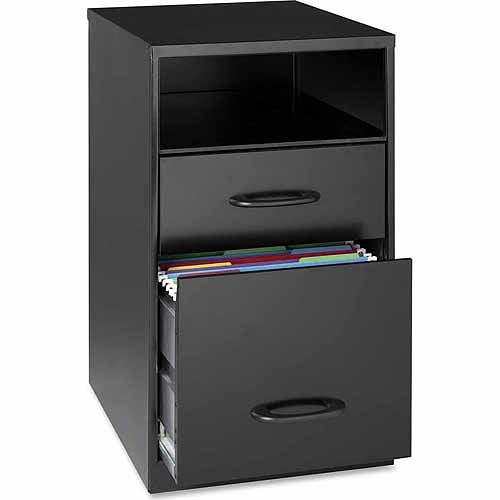 hirsh industries 3 drawer steel file cabinet in white - walmart