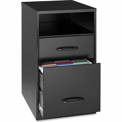 "Lorell SOHO 18"" 2-Drawer Organizer"