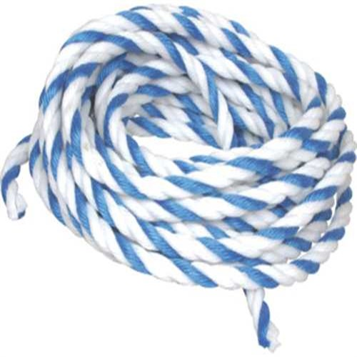 Scp distributors 299917 3 4 inch pool rope 50 feet length blue white new ebay for Scp distributors swimming pools