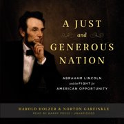 A Just and Generous Nation - Audiobook