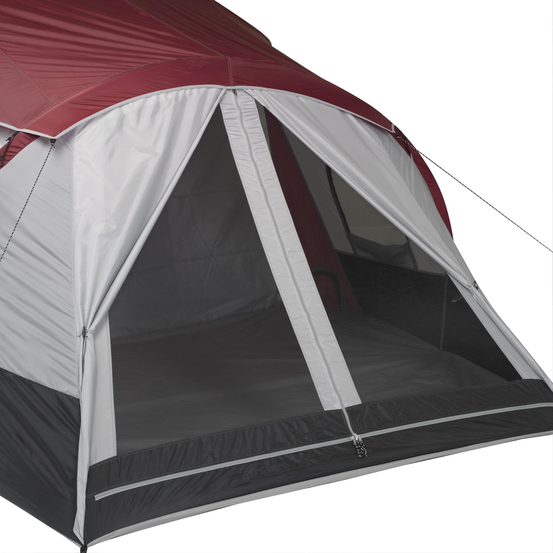 Ozark Trail 10person Tent 3 Room Cabin W Side Entrances