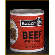 Bakalars Beef & Gravy, 6.5 Lb.