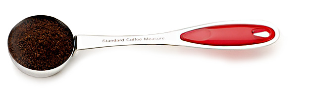 RSVP Endurance Splash Coffee Scoop Stainless Steel Red �� Cup by RSVP