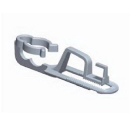 100ct Outdoor Gutter and Shingle Clips for C7 C9 or Mini Christmas Lights ()