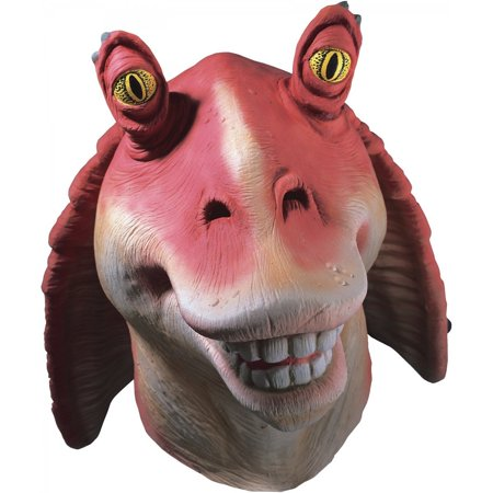 Star Wars Jar Jar Binks Costume Mask Child