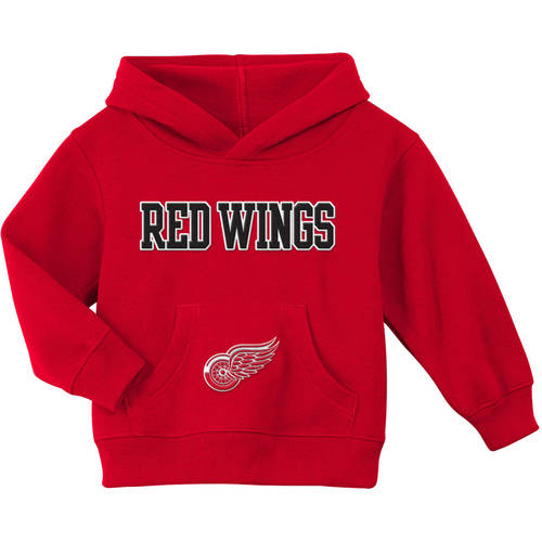 OuterStuff NHL Infant and Toddler/'s Detroit Red Wings Fleece Hoodie Red