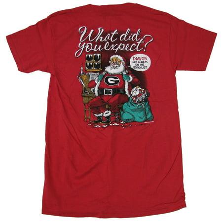 Funny Holiday Tuxedo T-Shirt Santa's Suit