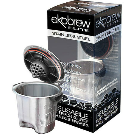 Ekobrew Eilte Reusable KCup Stainless Steel Reusable Keurig Kcup Filter
