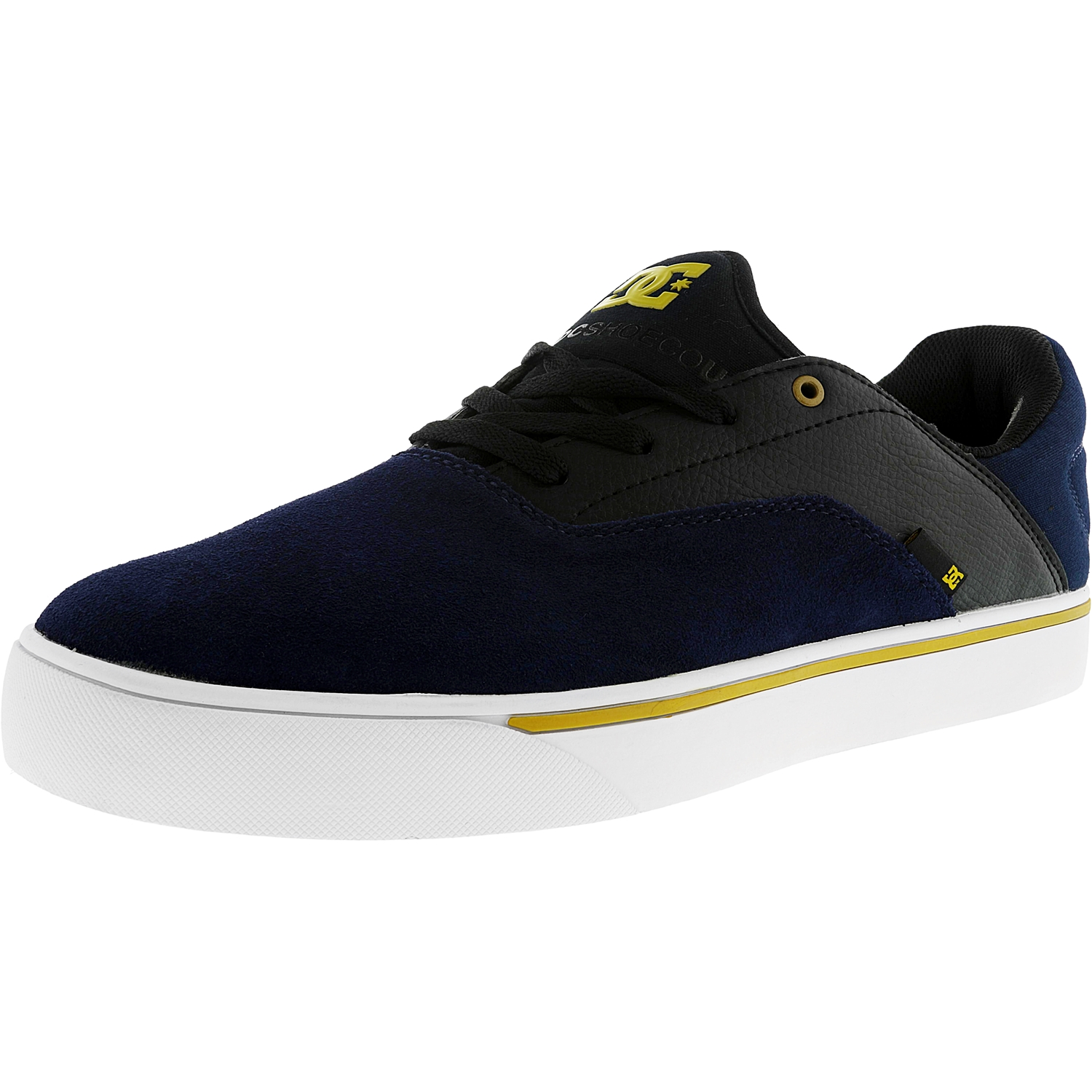 Dc Men's Wallon S Navy Ankle-High Suede Fashion Sneaker - 13M - image 1 of 1